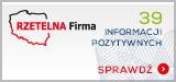Certyfikat Rzetelna Firma - K-BRO.pl